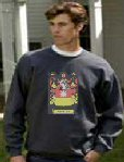 sweatshirt with large logo